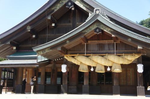 【鳥取 島根 山口の旅⑨ 出雲大社と出雲そば】_f0215714_18585816.jpg
