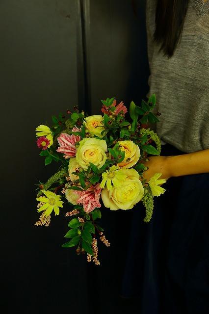 10月の一会マンスリーレッスン キャンドルと器と花を自分でコーディネイトしよう&持って帰っていいよ_a0042928_20043669.jpg