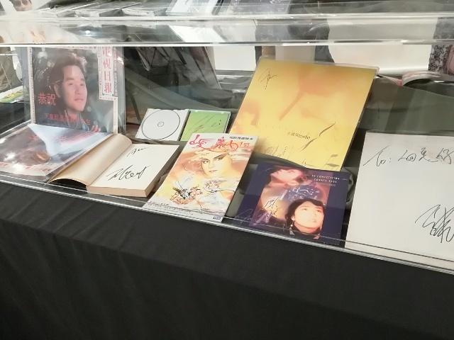 隨風不逝 張國榮2018記念展《親筆收藏品》@走馬燈_b0248150_10401512.jpg