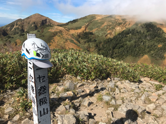 紅葉の巻機山 米子沢沢登り_d0110562_07445327.jpg