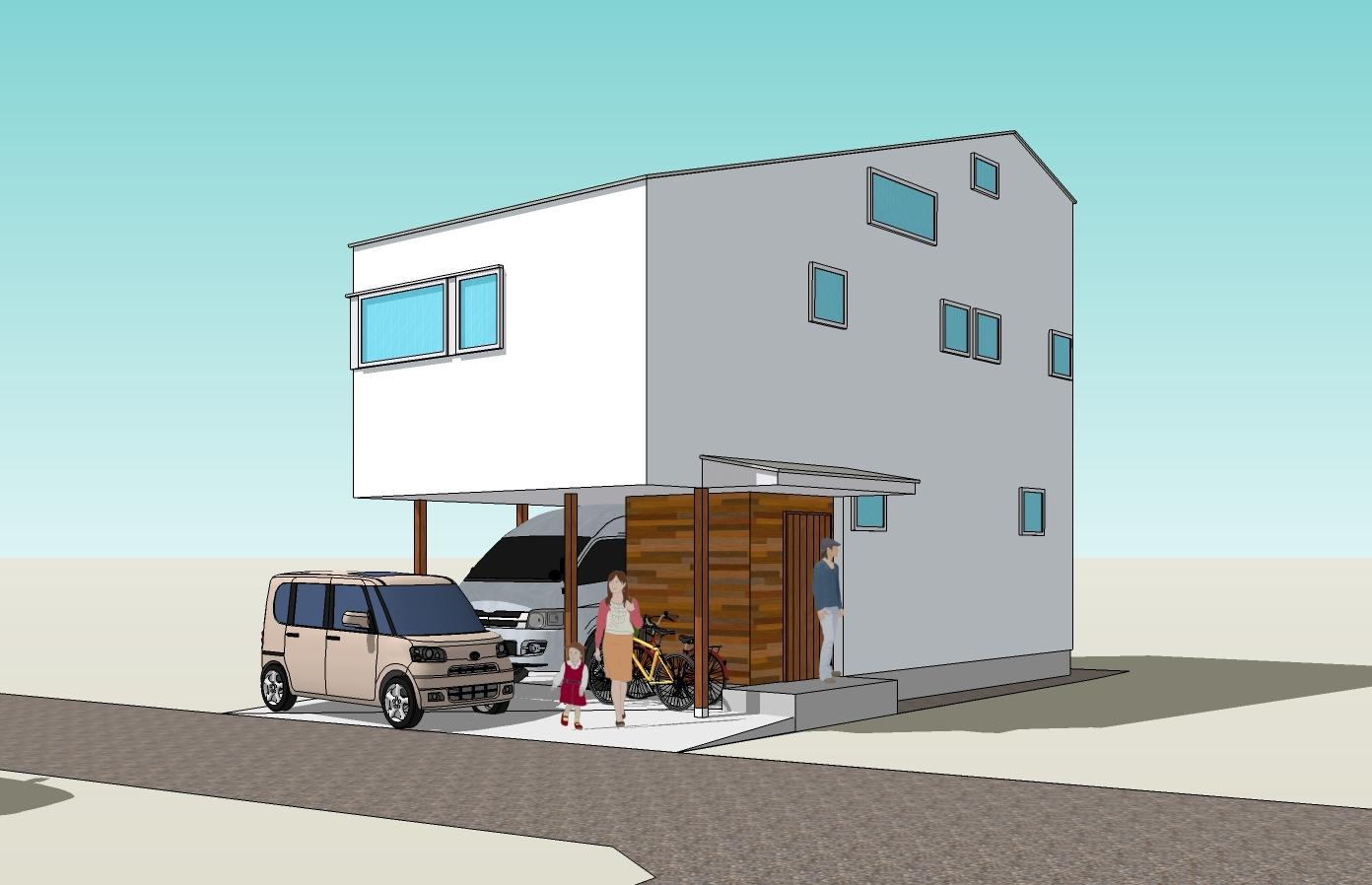 オープンハウス開催‼ 22坪の狭小地に建つ子育て世帯の住まい_b0349892_08214218.jpg