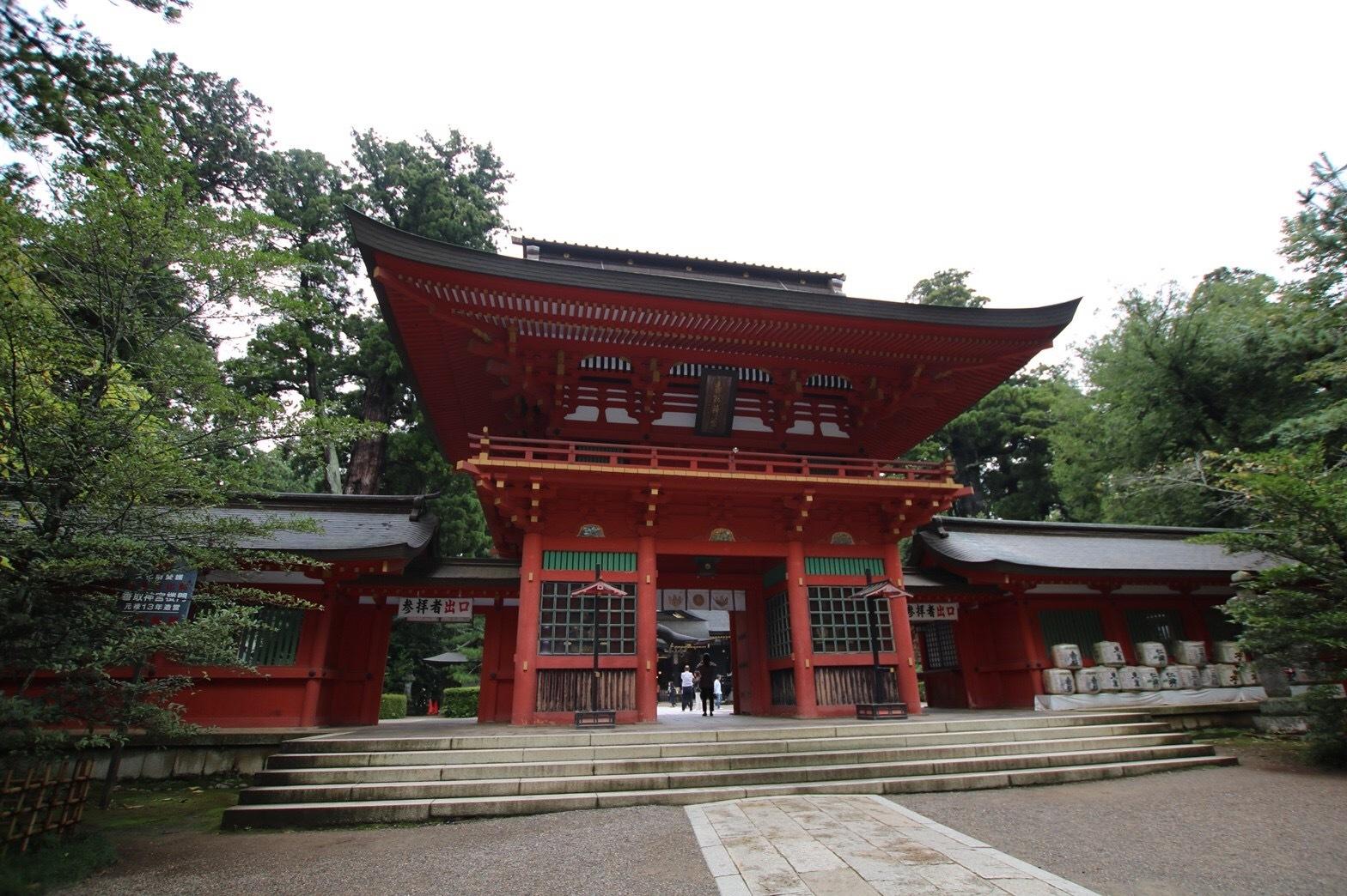 香取神宮の三本杉_a0283796_11315633.jpg