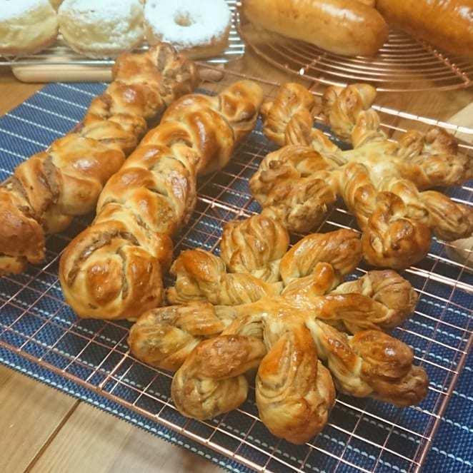 パン、パン、パン🎵_a0113430_07281535.jpg