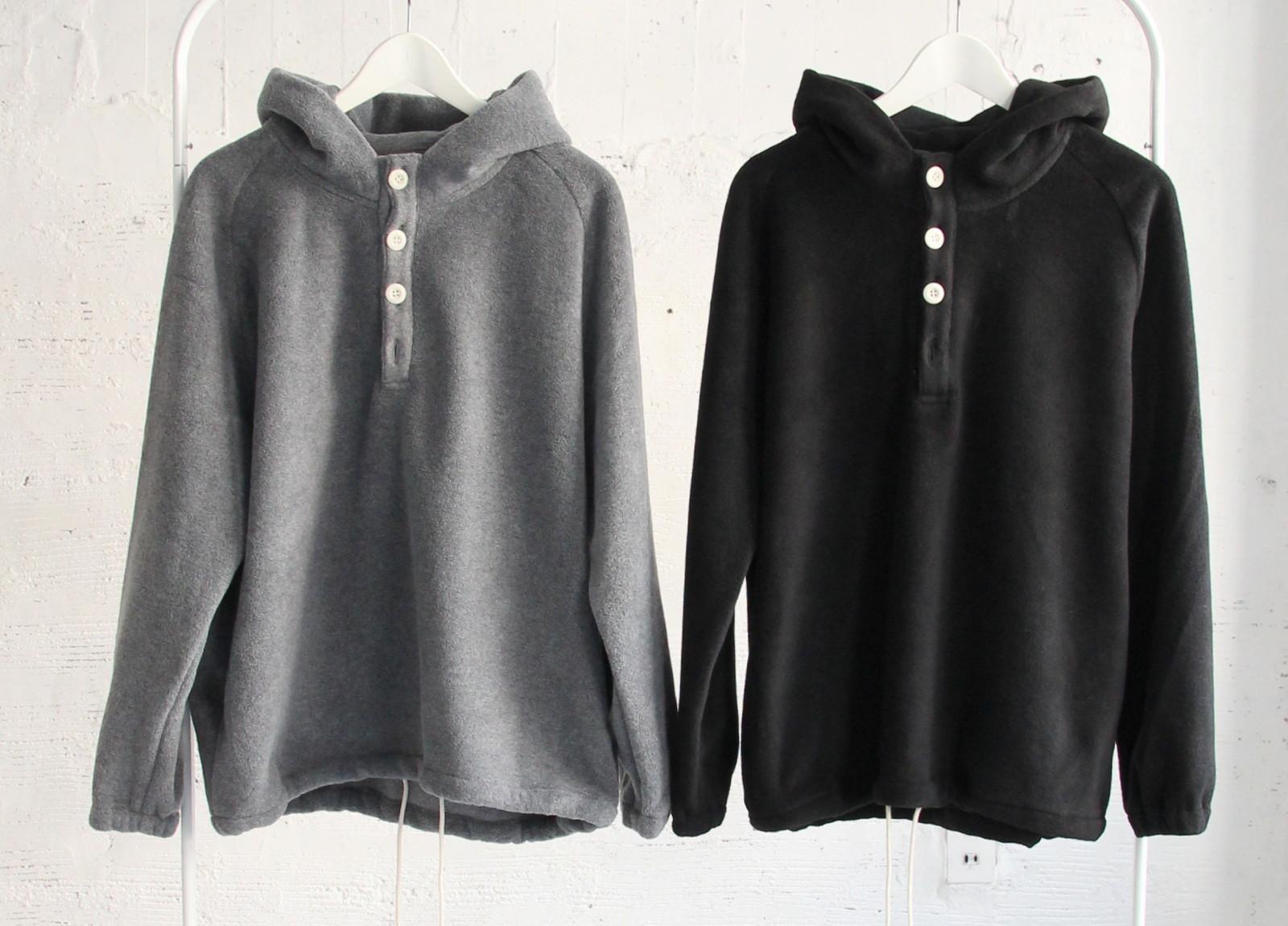 Boa Fleece Hooded Pull Over _c0379477_18291310.jpg