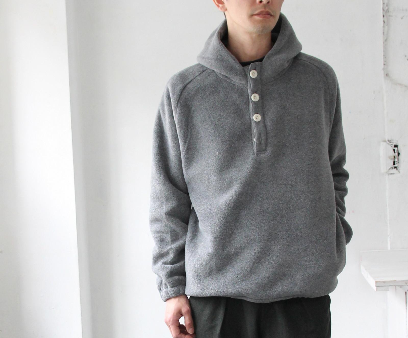Boa Fleece Hooded Pull Over _c0379477_18300895.jpg