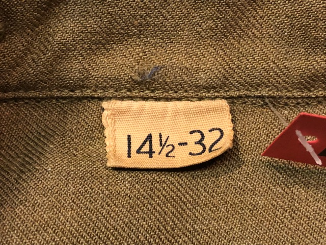 10月13日(土)大阪店ラボラトリー入荷!#7 U.S.Military編 Part1 Army,Navy,MC! NOS M-1943 Special!!(大阪アメ村店)_c0078587_145862.jpg