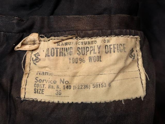 10月13日(土)大阪店ラボラトリー入荷!#7 U.S.Military編 Part1 Army,Navy,MC! NOS M-1943 Special!!(大阪アメ村店)_c0078587_16551470.jpg
