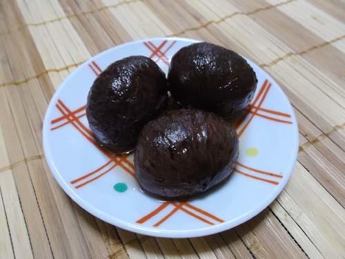 梨と山ぶどうジャムのコンポート&栗の渋皮煮完成_f0019498_09553928.jpg