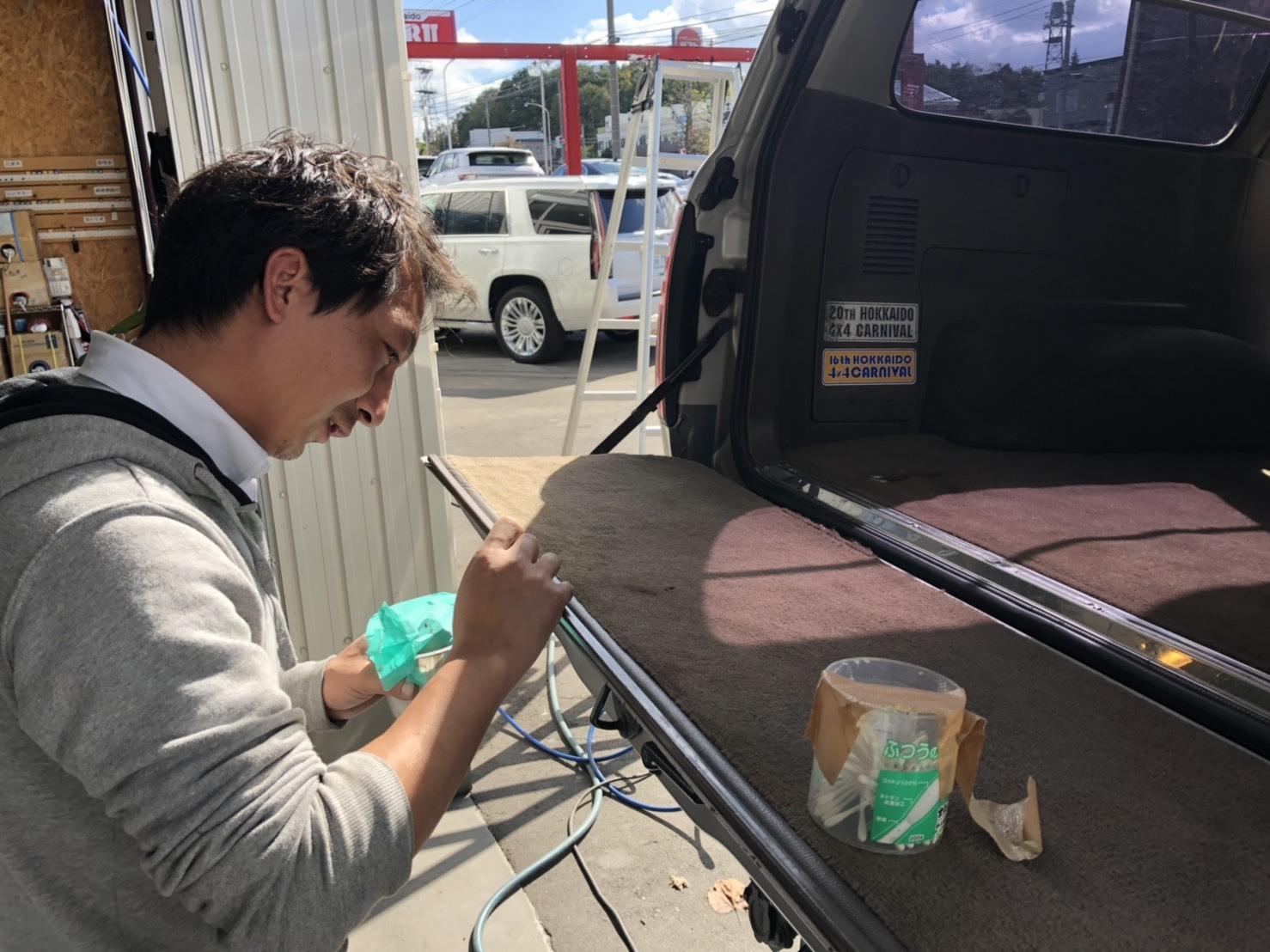 10月13日(土)✿ランクル80F様&ベンツSL350A社様納車(゜゜)♡タントK様ご成約(^^)/_b0127002_18203172.jpg