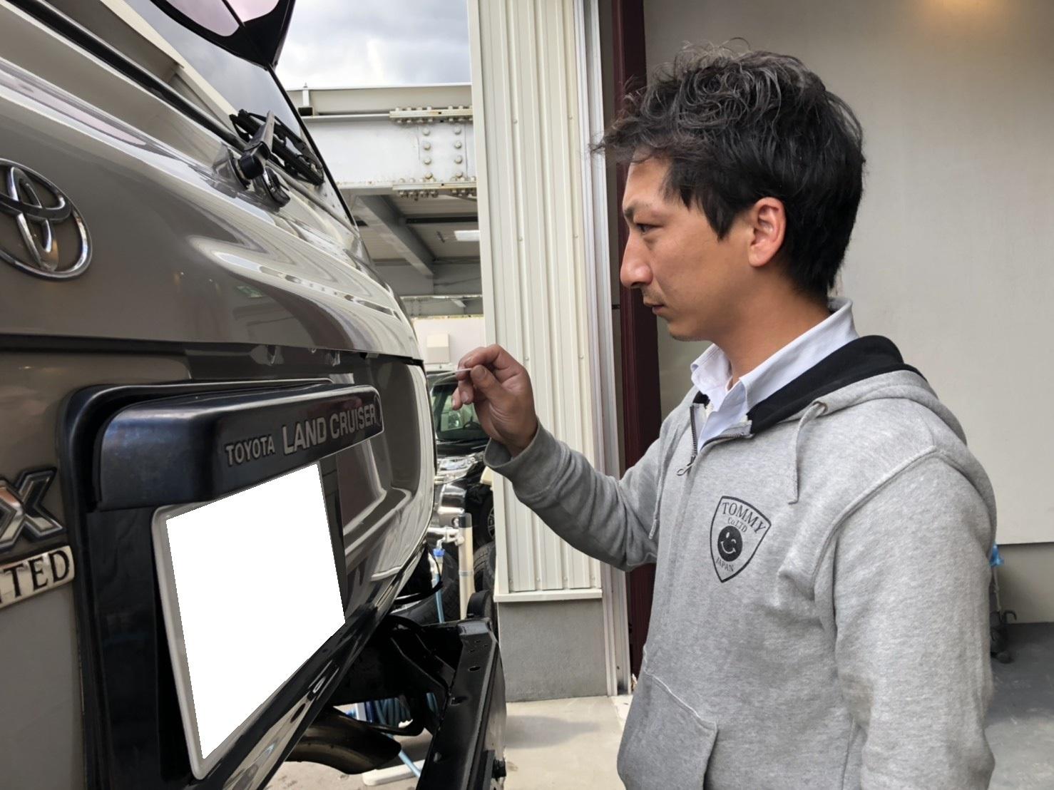 10月13日(土)✿ランクル80F様&ベンツSL350A社様納車(゜゜)♡タントK様ご成約(^^)/_b0127002_18205804.jpg