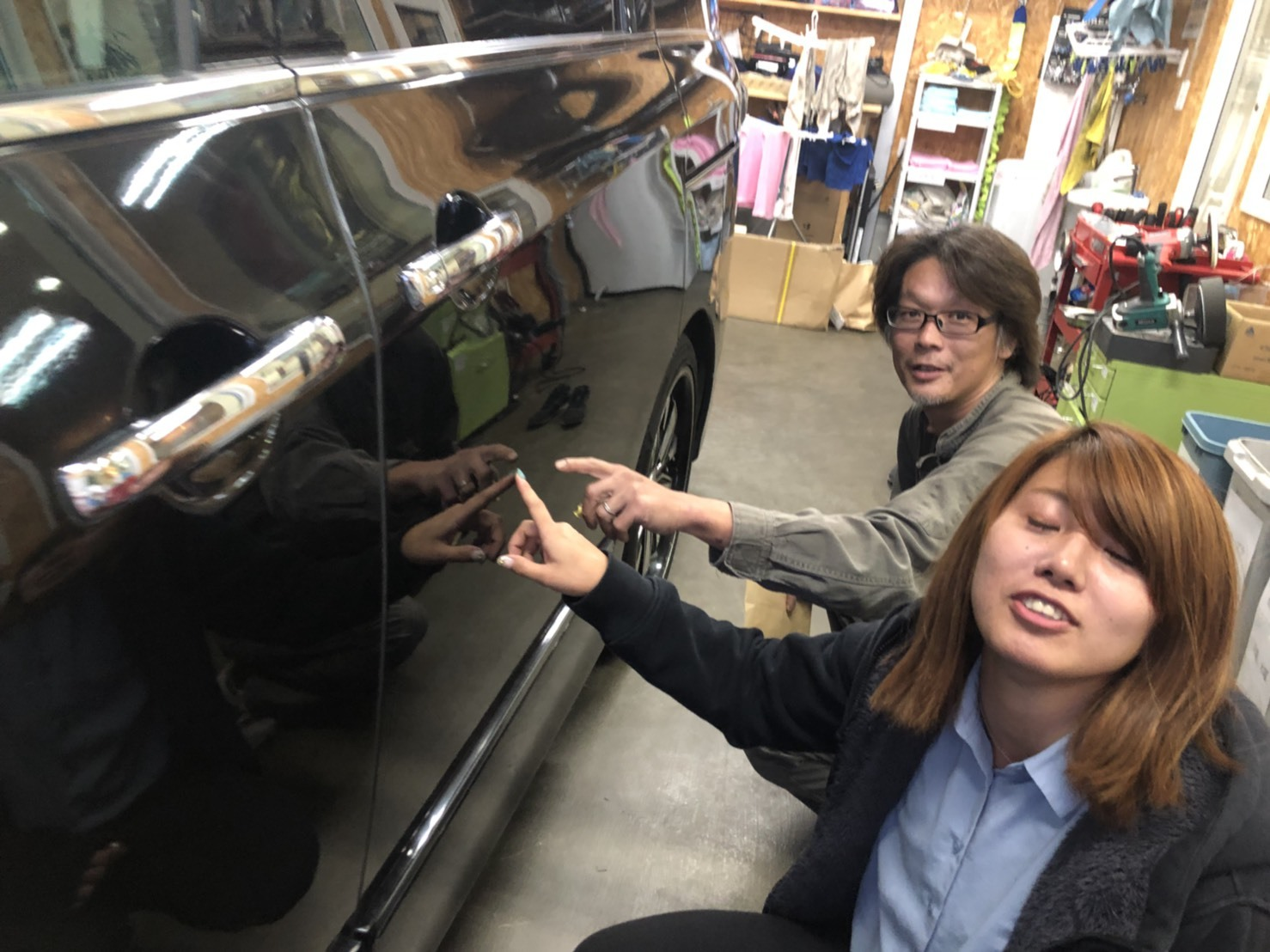 10月13日(土)✿ランクル80F様&ベンツSL350A社様納車(゜゜)♡タントK様ご成約(^^)/_b0127002_18250563.jpg