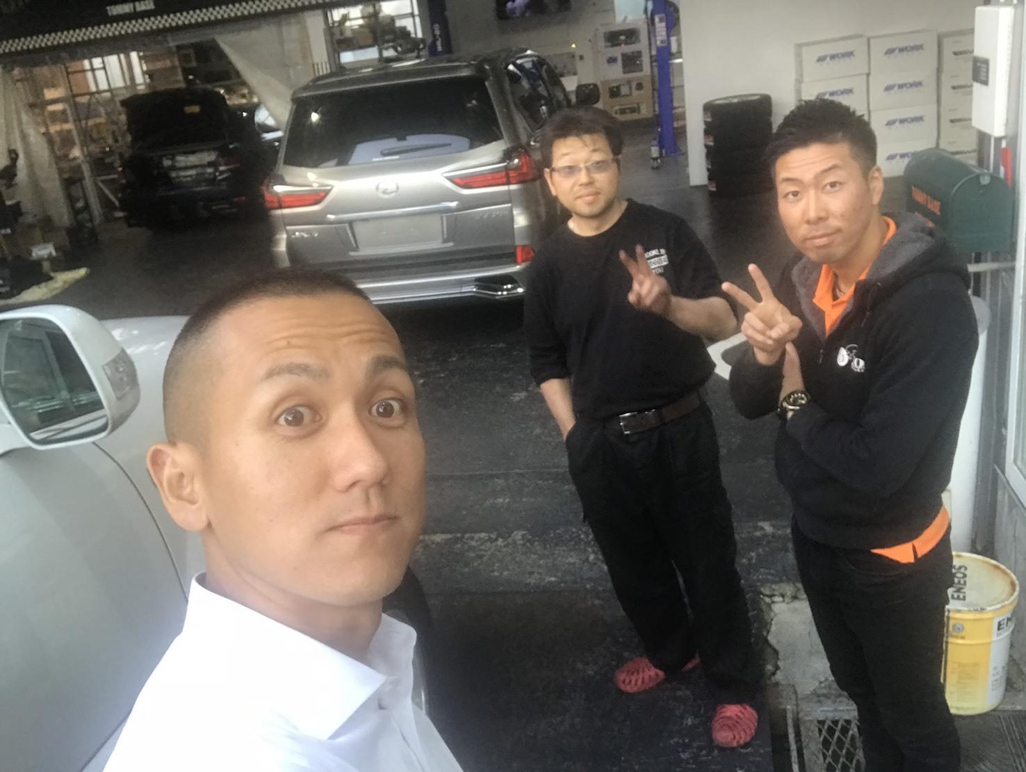 10月13日(土)✿ランクル80F様&ベンツSL350A社様納車(゜゜)♡タントK様ご成約(^^)/_b0127002_18254542.jpg