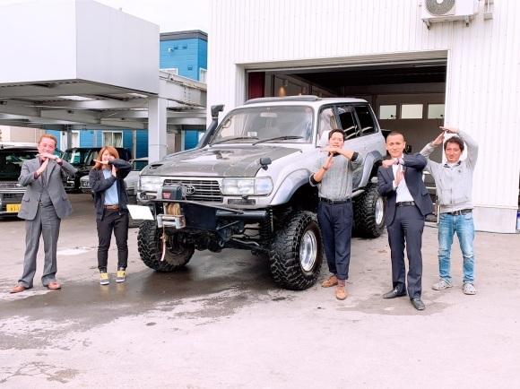 10月13日(土)✿ランクル80F様&ベンツSL350A社様納車(゜゜)♡タントK様ご成約(^^)/_b0127002_18261933.jpg