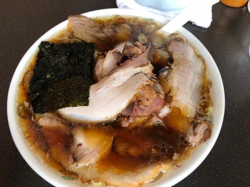 青島食堂  生姜醤油ラーメン_a0359239_20110752.jpg