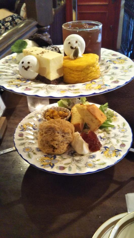 TEA SALON Gclef 吉祥寺店 実りの秋のアフタヌーンティ 120分飲み放題+追加デザート食べ放題_f0076001_2335312.jpg