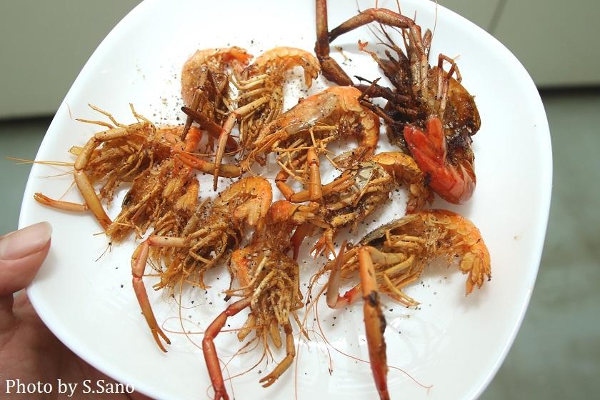 テナガエビの仲間とヌマエビの仲間を食べる_b0348205_17170811.jpg