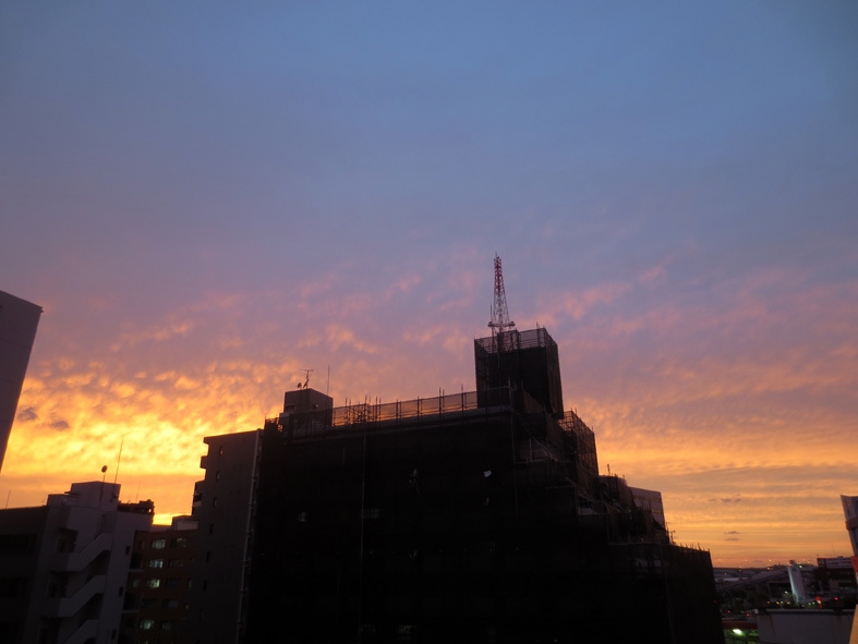 ■暮れ落ちる秋の日――週替わりの夕暮れ[10/11]_d0190217_22252402.jpg