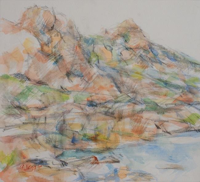 エステレルの岩と海_c0236929_03331098.jpg
