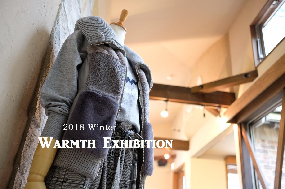 """""""2018 Winter Warmth Exhibition 開催中!...10/14sun\""""_d0153941_17024176.jpg"""