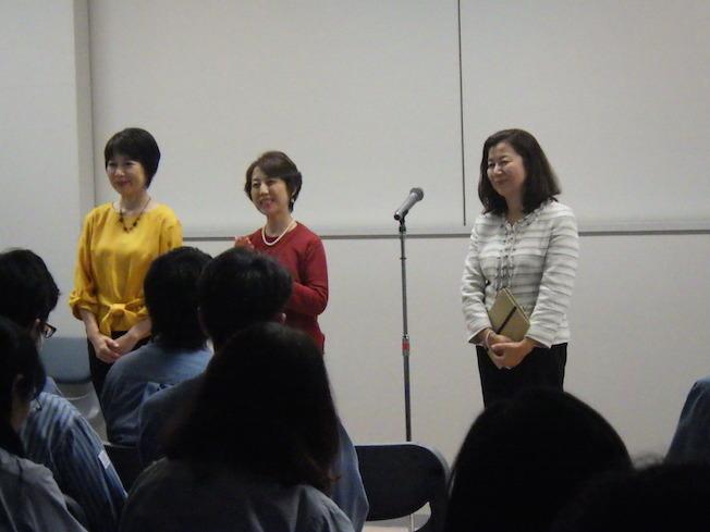 昭和電工で社員研修朗読会_e0088256_16235265.jpg