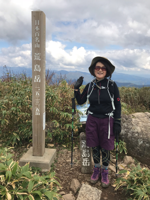 荒島岳登山_e0233674_23042157.jpg