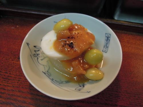 大根 茹で卵 銀杏 肉味噌_e0116211_12472327.jpg