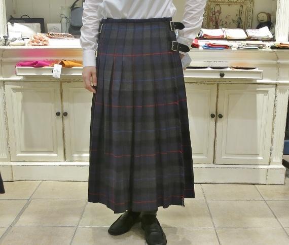 2018年 オニールオブダブリン ウール3個ベルトキルトスカートです。_c0227633_15354588.jpg