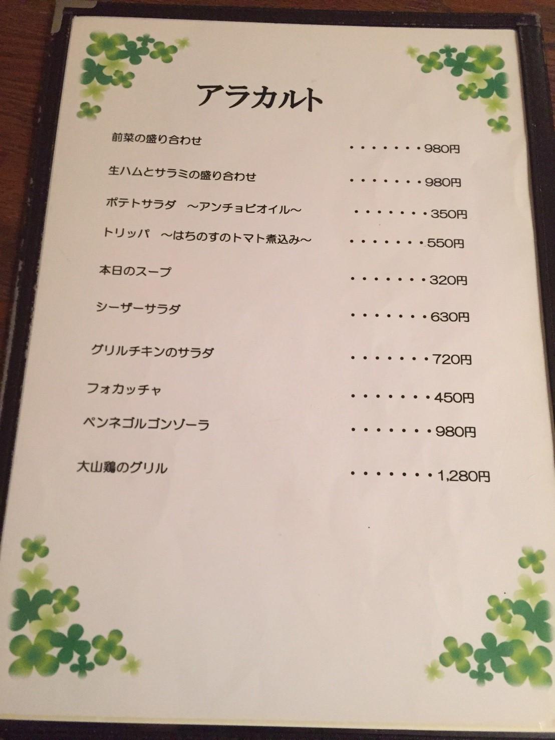 Pizzeria Sanare 取り分けディナー_e0115904_05242252.jpg