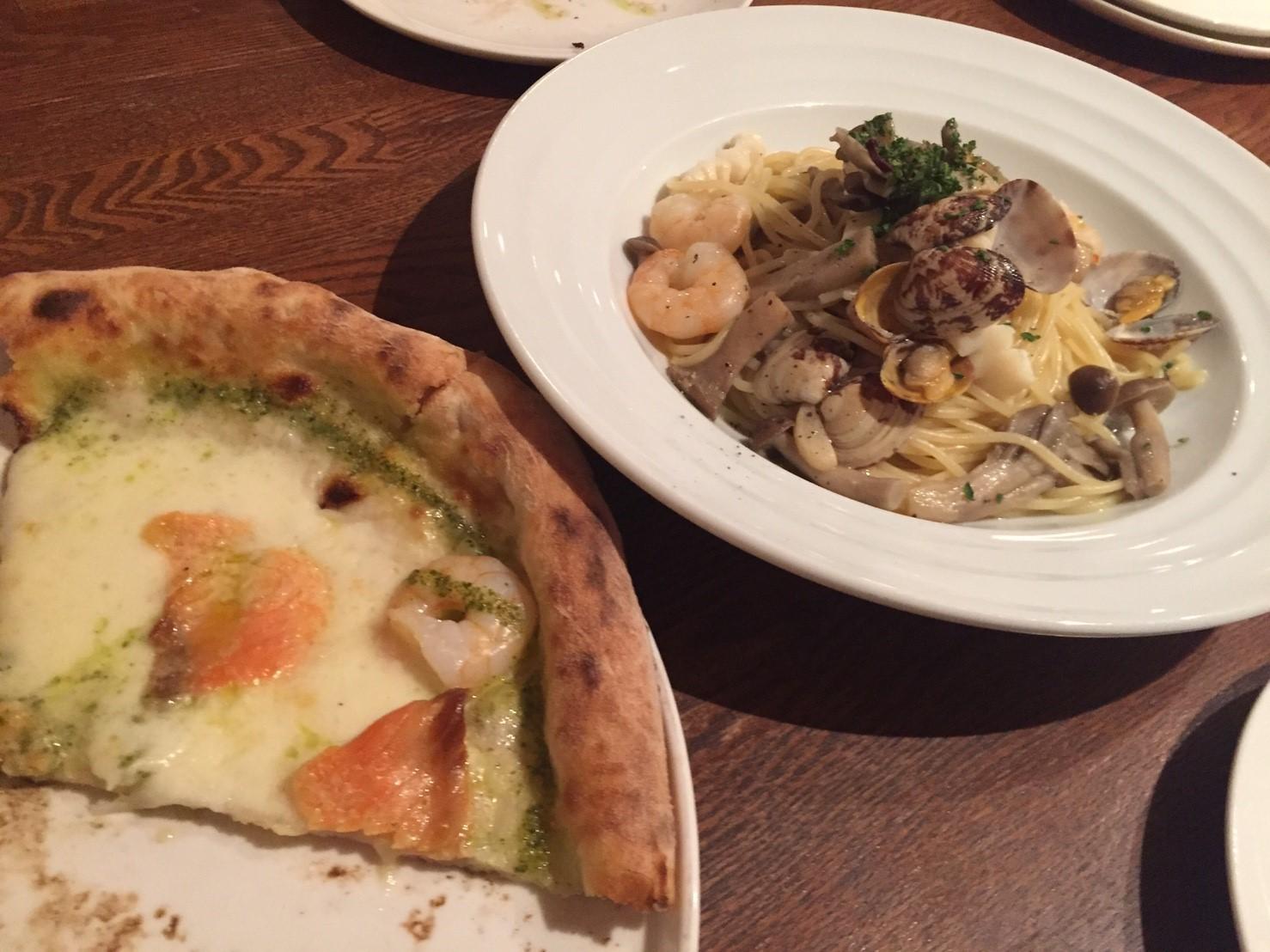 Pizzeria Sanare 取り分けディナー_e0115904_05530274.jpg