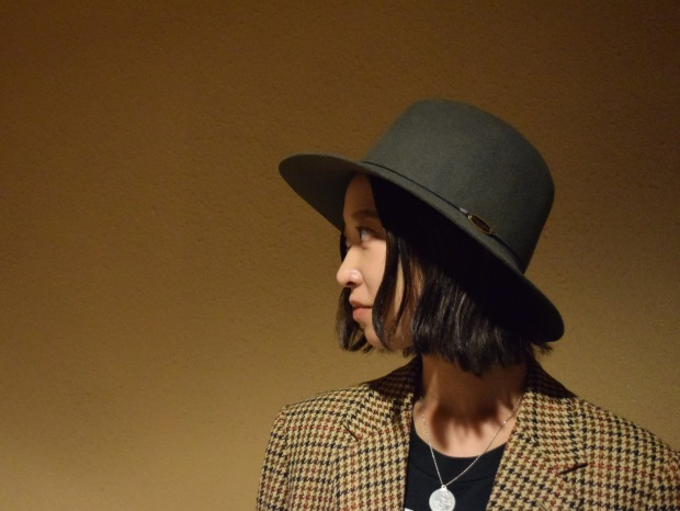 """Nine Tailor"" felt hat!!_c0355834_20233842.jpg"