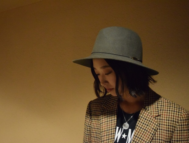 """Nine Tailor"" felt hat!!_c0355834_20240125.jpg"