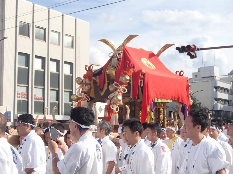 西院春日祭観賞ウオーク_b0044663_19122942.jpg