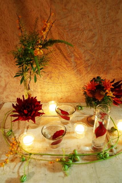 10月16日夜、キャンドルと器と花を自分で選ぶレッスン 11月レッスン増発のお知らせ_a0042928_14501002.jpg