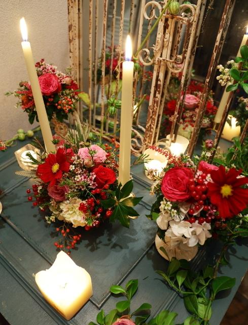 10月16日夜、キャンドルと器と花を自分で選ぶレッスン 11月レッスン増発のお知らせ_a0042928_14554297.jpg