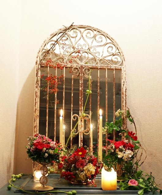10月16日夜、キャンドルと器と花を自分で選ぶレッスン 11月レッスン増発のお知らせ_a0042928_14554595.jpg