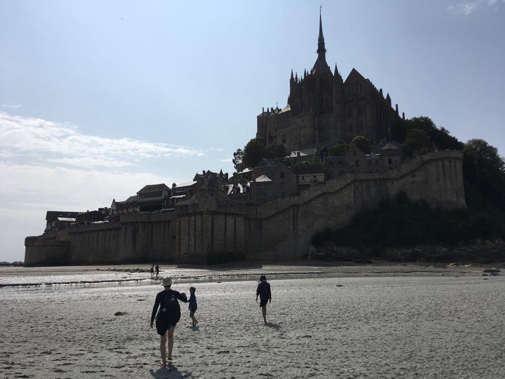 フランスで夏休み③ モンサンミッシェル_b0176235_03525592.jpg