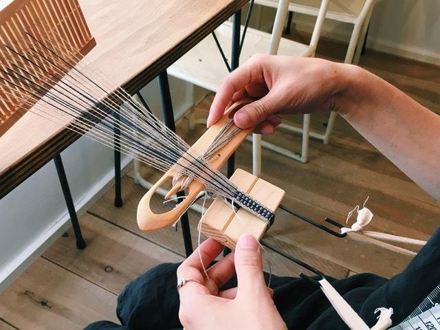 手しゴト道具と古いモノ+手織りのアトリエ / Found & Made(ファウンドアンドメイド)_a0288689_13435590.jpeg