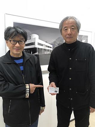 ニコンプラザ新宿で開催中の『ハナブサ・リュウ写真展 ル・コルビュジエ』_f0165332_22433753.jpg