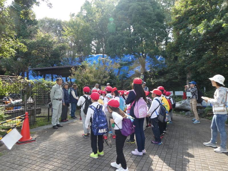 鳴滝小学校2年生遠足のサポート・・・うみべの森_c0108460_17162209.jpg