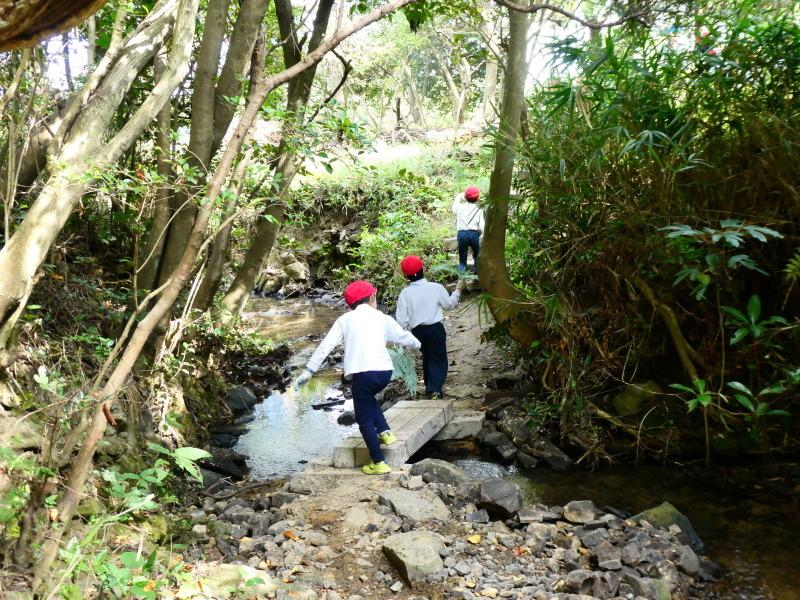 鳴滝小学校2年生遠足のサポート・・・うみべの森_c0108460_17195036.jpg