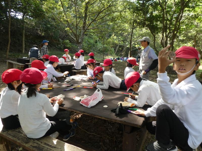 鳴滝小学校2年生遠足のサポート・・・うみべの森_c0108460_17235967.jpg