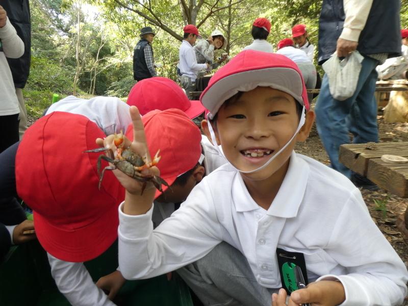 鳴滝小学校2年生遠足のサポート・・・うみべの森_c0108460_17251062.jpg