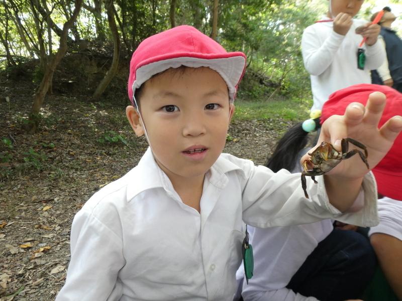 鳴滝小学校2年生遠足のサポート・・・うみべの森_c0108460_17253190.jpg