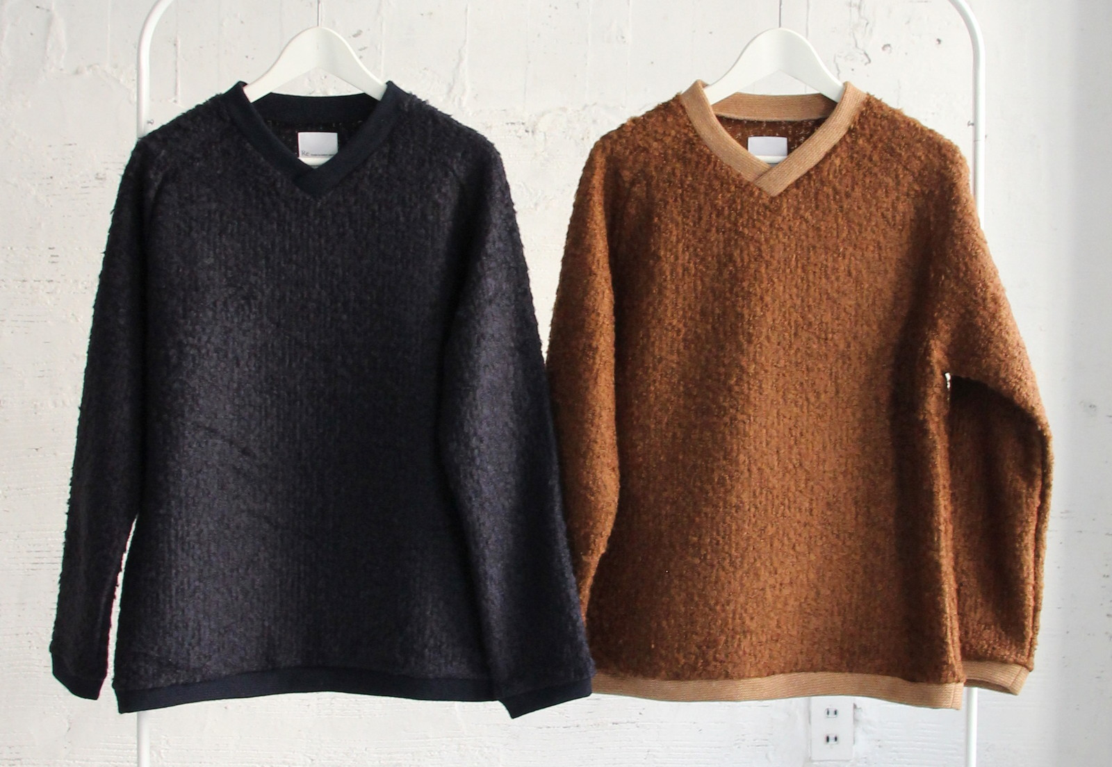 Wool Ring Small V Pull Over_c0379477_14470913.jpg