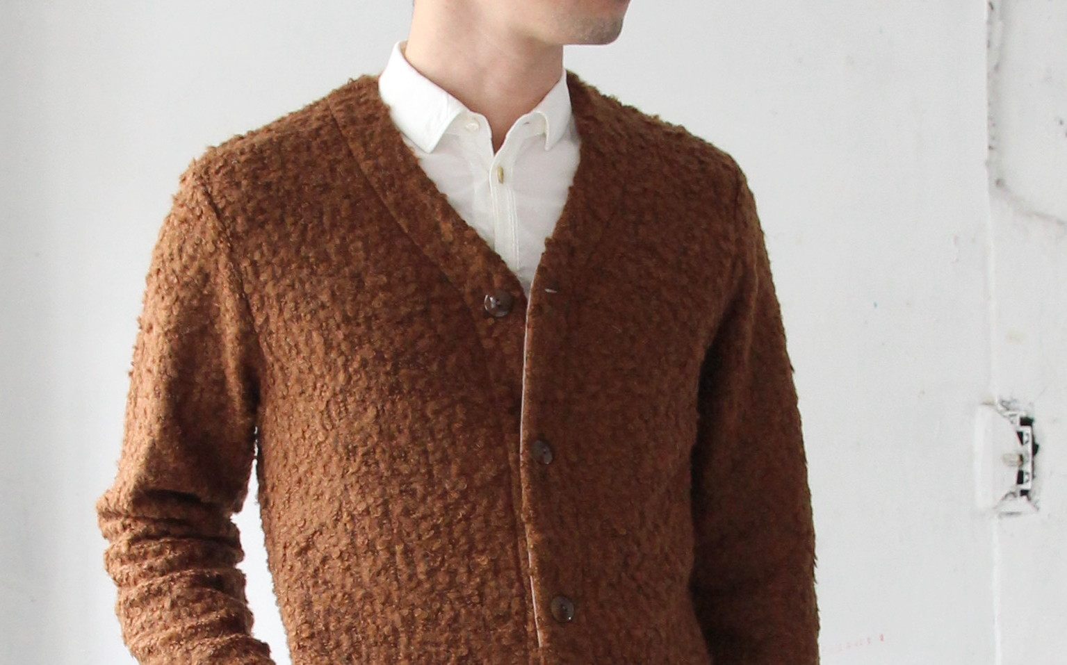 Wool Ring Small V Cardigan_c0379477_14482157.jpg
