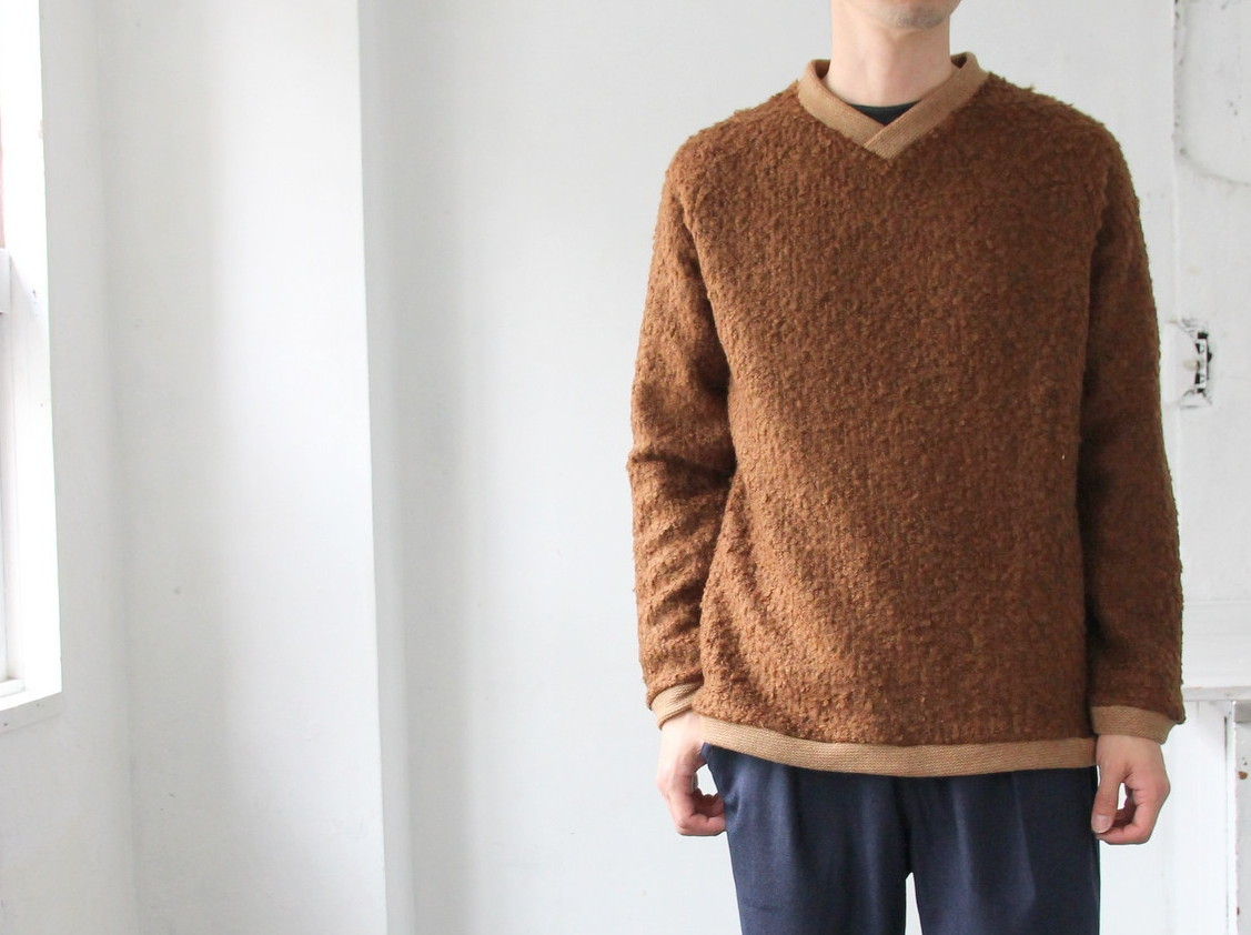 Wool Ring Small V Pull Over_c0379477_14510271.jpg