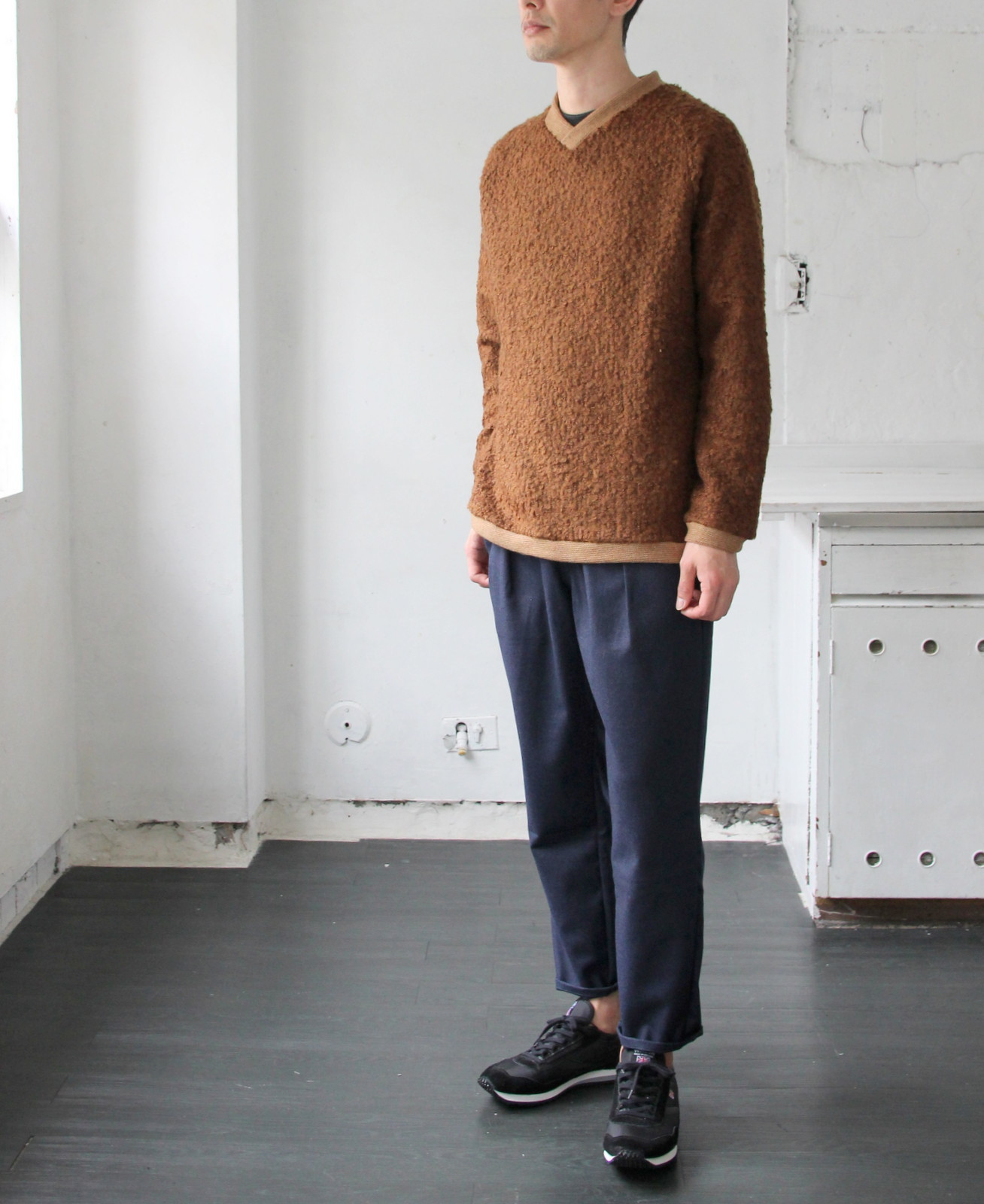 Wool Ring Small V Pull Over_c0379477_14513049.jpg