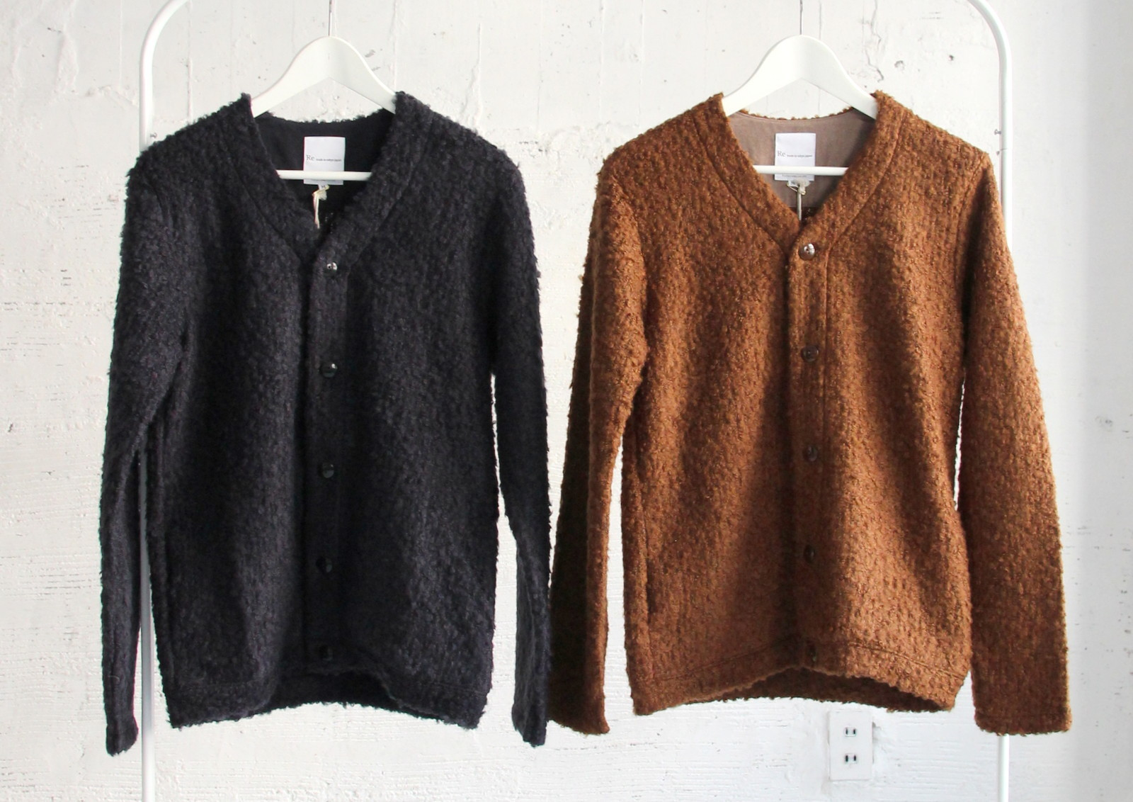 Wool Ring Small V Cardigan_c0379477_15134726.jpg