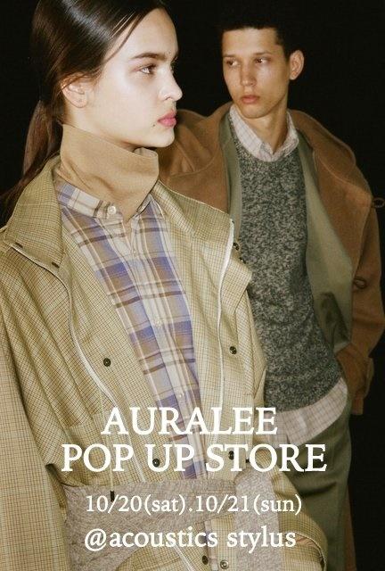 AURALEE POP UP STORE_b0110586_16213094.jpg