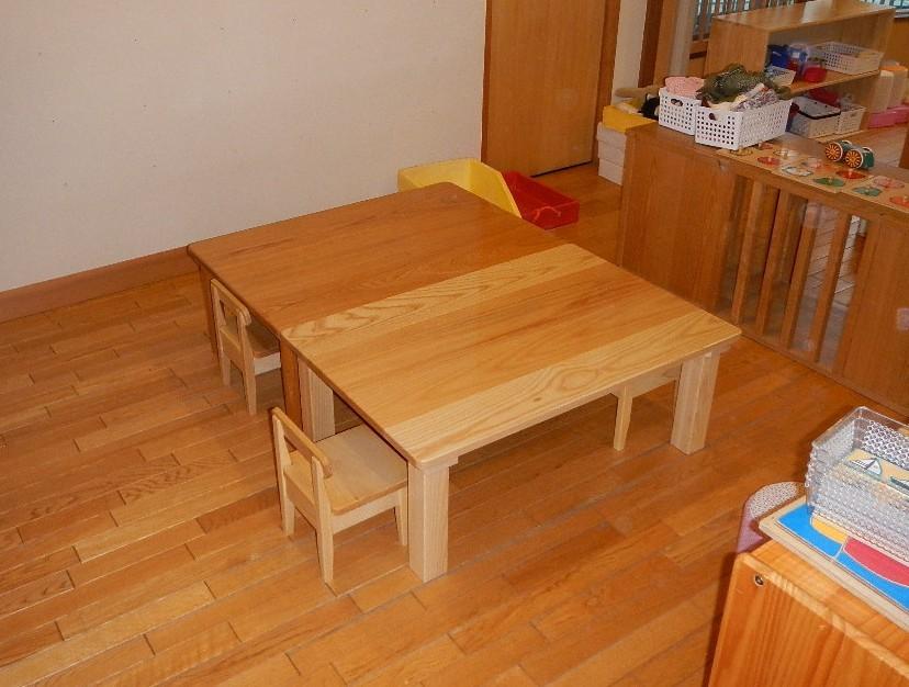 テーブル・机、保育園で使用_c0138410_13232026.jpg